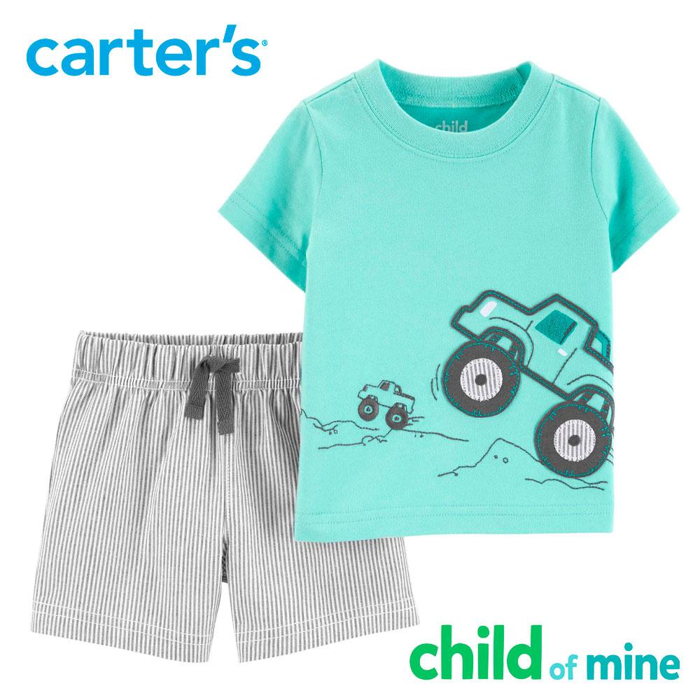 Camiseta de manga corta y pantalones cortos 2 piezas