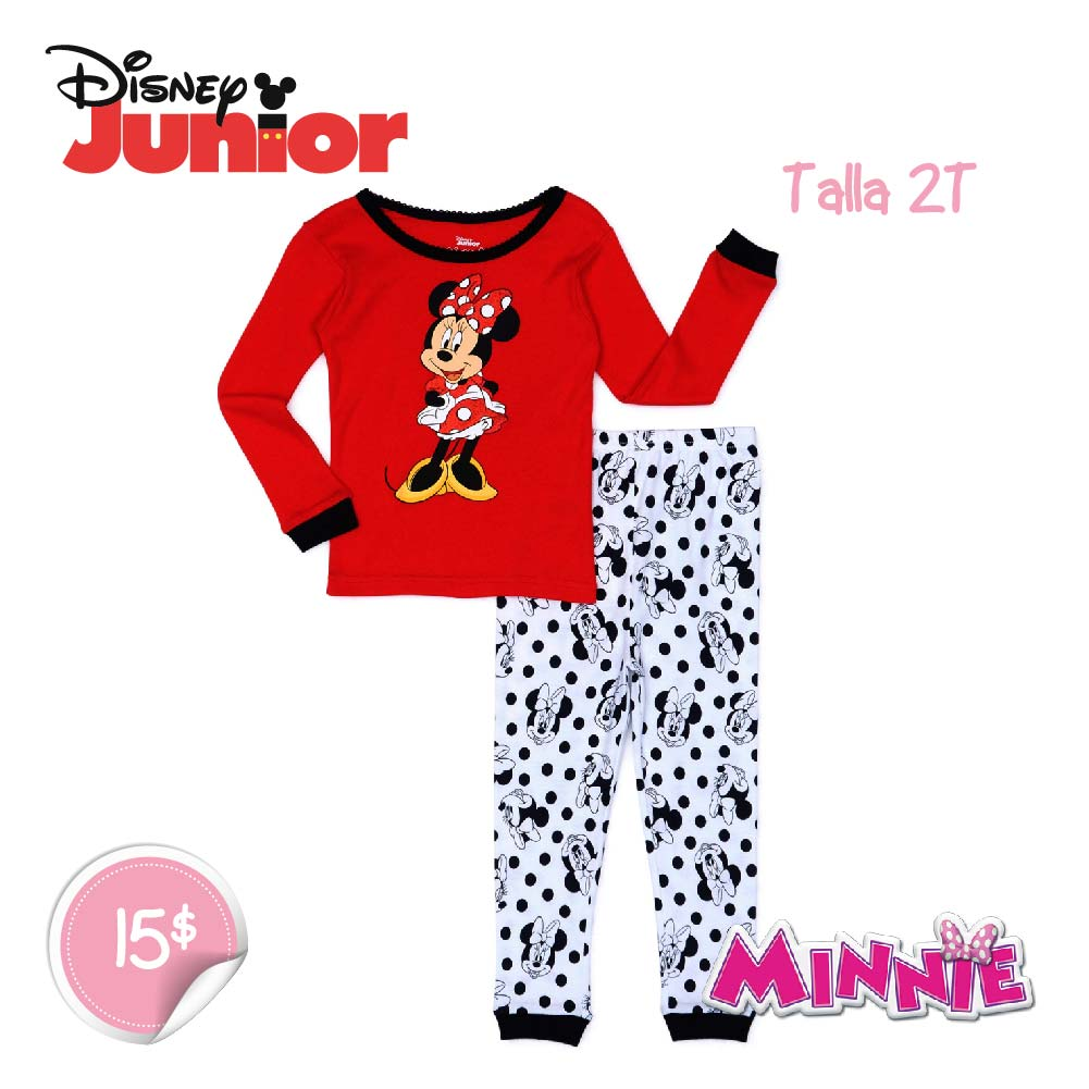 Minnie Mouse Linda 2 Piezas