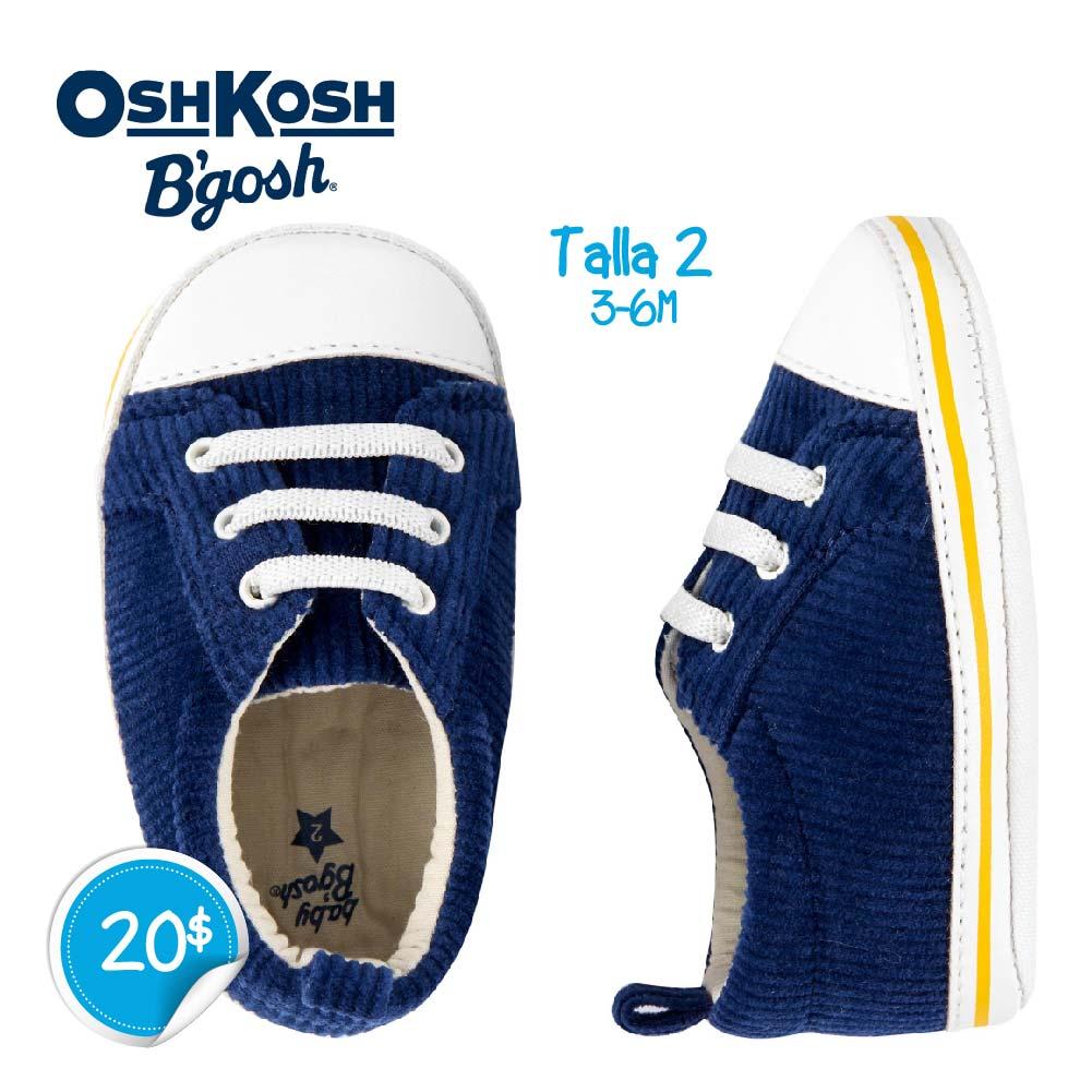 Zapatos Azules rayas Amarillas