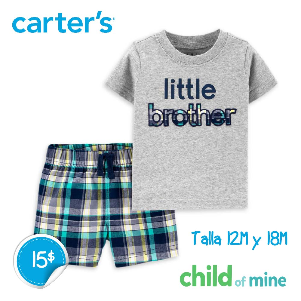 Conjunto Little Brother 2 piezas