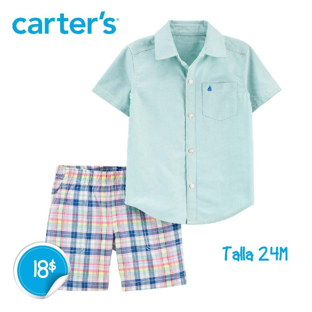 Conjunto Camisa y Short 2 piezas